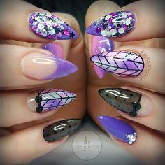 Flashback Friday  Purple Pretties  Using.. @gellyfitaustralia  @glitter_heaven_australia