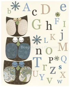 Owls Alphabet