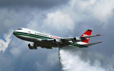 aircraft themed wallpaper for desktops by Aston Young Major Airlines, Commercial Aircraft, Civil Aviation, Boeing 747, Jet Plane, Firefighter, Evergreen, Vehicles, Planes