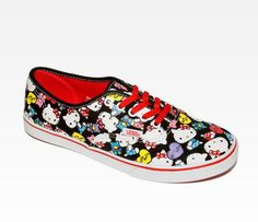 VANS x Hello Kitty Authentic Lo Pro: Collage