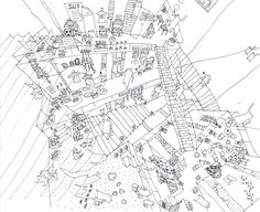 conceptsketch:  archidose:  shunjy:  Sarugaku / Akihisa Hirata 694814477_sketch – ArchDaily
