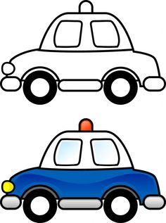 Color coloring sheets on Pinterest | Coloring Pages, Police Cars and ...