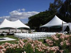 Music City Tents & Events outside ceremony set up (Nashville, Brentwood, Franklin, TN)