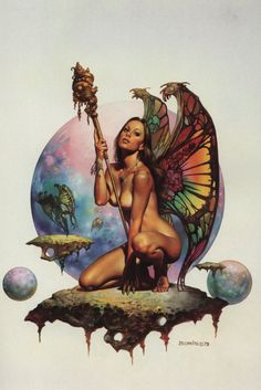 Boris Vallejo - Butterfly