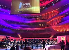 National and international artists are honored for their extraordinary skills at the 24th ECHO KLASSIK in the Elbphilharmonie tonight. The broadcaster ZDF uses a TETRA system and our latest Wireless Intercom Product BOLERO for the event. #RIEDEL