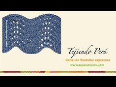 Cómo Tejer PUNTO ONDAS - Feather and Fan 2 Agujas (13) - YouTube