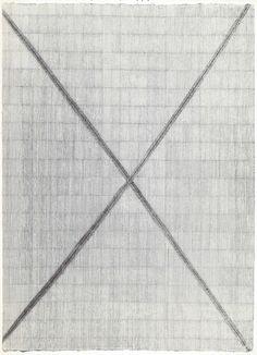 Raoul De Keyser, Untitled, 1974, (56 x 77 cm), ink on paper