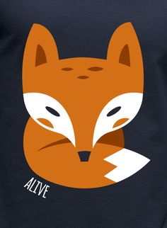 Alive illustrations by Christian Lindemann, via Behance Fox Tattoo Design, Little Fox, Cute Fox, Art For Art Sake, Hand Painted Ceramics, Art And Illustration, Animal Design, Manga, Shirts For Girls