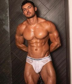 """""""Josh Watson, is a Bristish fitness athlete, model, and powerlifter"""" V Cut Abs, Latin Men, Male Fitness Models, Just Beautiful Men, Hairy Men, Slip, Sexy Men, Hot Guys, Eye Candy"""