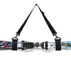 Thick & Strong Ski Shoulder Carrier Lash Handle Straps