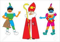 Sinterklaas en kleurenpieten