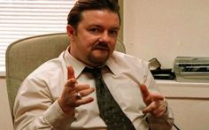 Ricky Gervais: http://en.wikipedia.org/wiki/Ricky_Gervais