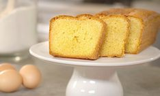 Need a simple cake recipe? Try this Easy quatre quart cake recipe for a delicious baked treat today. Stork - Love to Bake.