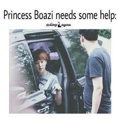 Hahahahahahah Xiumin the Princess xD ~ EXO Macros