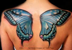 Butterfly Tattoo Designs for Women Image