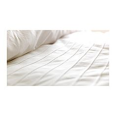 ALVINE STRÅ Duvet cover and pillowcase(s) - King - IKEA for both master and guest bedroom