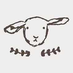 Sheep - Psalm 23 - The Lord is my Shepherd Sheep Drawing, Sheep Tattoo, Sheep Illustration, Sheep Crafts, Sheep Art, Sheep And Lamb, Art Plastique, Doodle Art, Illustrations