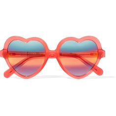Cutler and Gross Love Bite acetate sunglasses (€385) via Polyvore featuring accessories, eyewear, sunglasses, pink, uv protection sunglasses, pink heart glasses, pink heart shaped glasses, pink sunglasses and acetate glasses