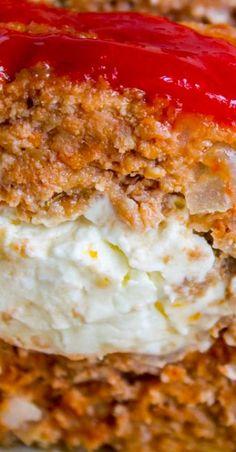 Cream Cheese Stuffed Meatloaf