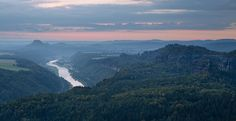 Saxon Switzerland is a beautiful place. Me and my girlfriend were lucky to spend one evening there and watch sunset near the small village called Schmilka. Where I took this photo: Share this:Faceb…