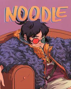 Noodle é a melhor! Vai ter pôster dela na ccxp visse? Mesa B6! #fanart #gorillaz #ccxp #noodlegorillaz Gorillaz Noodle, Gorillaz Fan Art, Fanart, 2d And Noodle, Vocaloid, Sunshine In A Bag, Monkeys Band, Demon Days, Jamie Hewlett