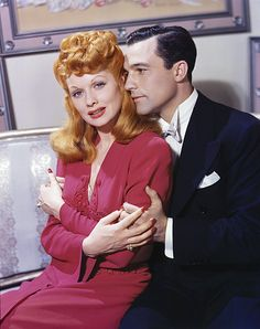 Lucille Ball and Gene Kelly