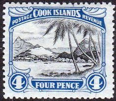 Cook Island 1944 Captain Cook Landing SG 137 Fine Mint Scott Scott 116  Other Cook Island Stamps HERE