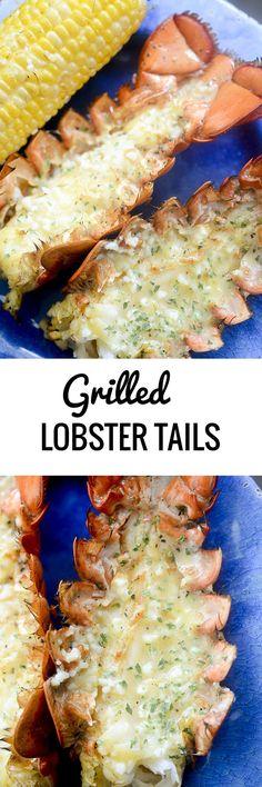 Grilled Lobster Tails with Garlic Butter - Recipe Diaries - Grilled Lobster Tails – Recipe Diaries La mejor imagen sobre diy home decor para tu - Lobster Dishes, Lobster Recipes, Fish Dishes, Seafood Dishes, Fish Recipes, Seafood Recipes, Lobster Dip, Lobster Pasta, Lobster Bisque