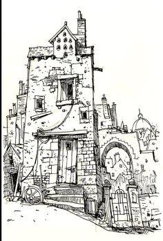 Sketchbook: 'Dovecote' pic.twitter.com/bJyjo2oavc