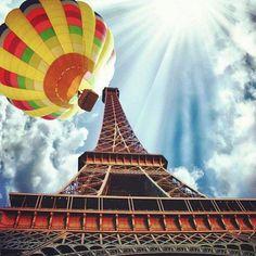 Paris, France ~Hot Air Ballon~