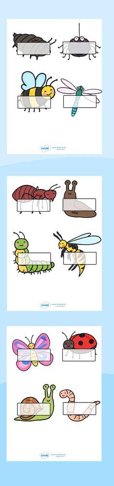 Voor op magneetbord: leg de namen na