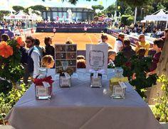 Grande privilegio ed onore per Giardini d'Amore essere presenti a Roma alla seconda giornata del Tennis and Friends - Great privilege and honor to be present in Rome at the second day of Tennis & Friends - http://www.giardinidamore.com/it/product/2-cinnamon.html
