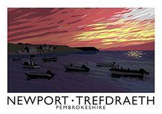 Newport/Trefdraeth Art Print (A3) Chequered Chicken https://www.amazon.co.uk/dp/B01GQMQ3TW/ref=cm_sw_r_pi_dp_UIcyxbRWDK6SD