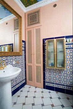 Eastern Luxury 48 Inspiring Moroccan Bathroom Design Ideas Adorable Moroccan Tile Bathroom Design Design Ideas