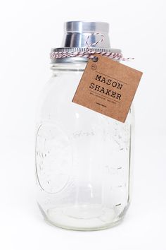 Check out this screw top that makes a Mason jar into a cocktail shaker. Now thats the way to make a Southern drink. Or any kind of drink. Its by two Virginia boys living in Brooklyn, NYC. My kind of people. Read the article in Fast Company here. And order your own here. (thanks to @unquieted for showing me this)