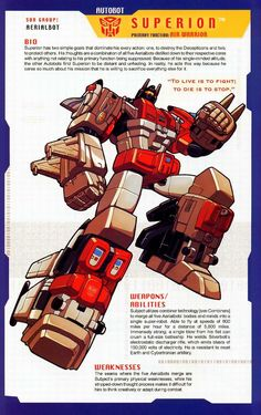 Transformer of the Day: Superion