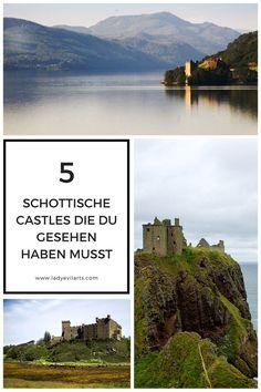 Fernweh nach Schottland? Diese Castles musst du gesehen (und fotografiert) haben! :)