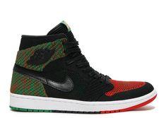 separation shoes ba05b 69e27 Official AIR JORDAN 1 FLYKNIT BHM black, lucid green university red-black  aa2426 026