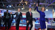 09-16-2015  Carly Fiorina dominated Donald Trump at the debate, but she was as loose with the facts as he was.