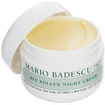 Bee Pollen Night Cream from Mario Badescu Skin Care via mariobadescu.com