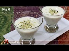 Rabri (North Indian Milk Dessert) Recipe by Manjula Indian Dessert Recipes, Indian Sweets, Sweets Recipes, Easy Desserts, Indian Milk, Moist Vanilla Cake, Milk Dessert, Food Experiments, Vegetarian Recipes