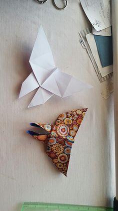 Origami in stoffa