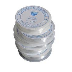 Elastic Stretchy Crystal Thread Bead Jewelry Bracelet Cord String (FREE POSTAGE WORLDWIDE) on Etsy, £2.50
