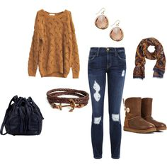 """""""Slouchy Sunday"""" by rachael-phillips on Polyvore"""