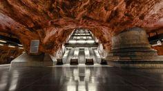 El metro de Estocolmo y sus asombrosas estaciones