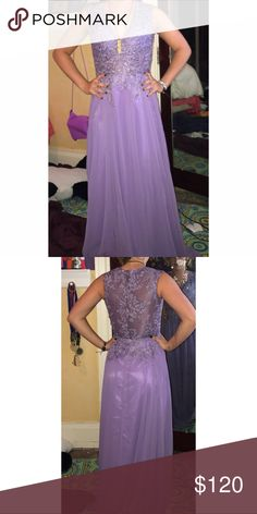 Lace Lavender Prom Dress Custom color you won't find anything like this anywhere else! june bridals Dresses Prom