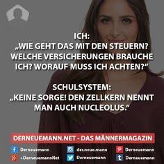 Schulsystem #derneuemann #humor #lustig #spaß #sprüche #schule
