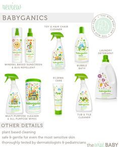 Babyganics review & giveaway. We love this line of baby safe products! .