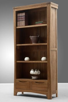 Orrick Solid Oak Bookcase www.oakfurnitureland.co.uk