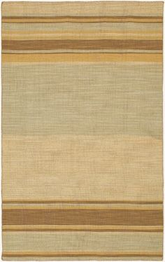 RugStudio presents Jaipur Rugs Pura Vida Kingston PV05 Fog/Light Gold Flat-Woven Area Rug.  Ha!  Same colors as 3 pillows.  Famly Room TV area.